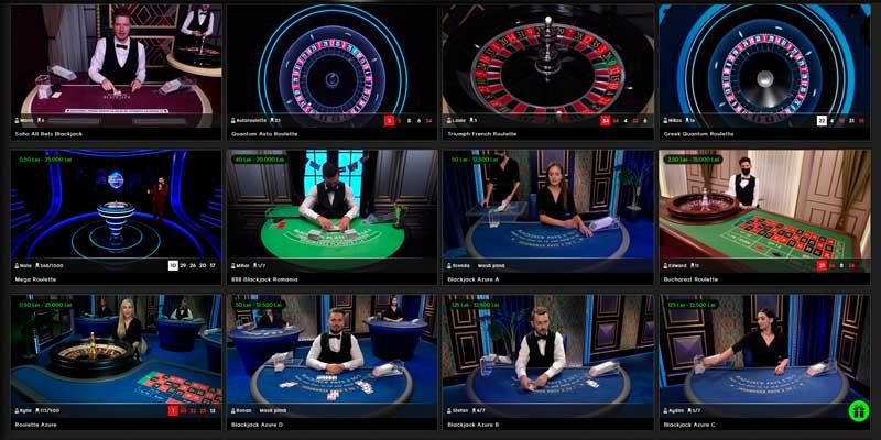 cazino live la 888casino